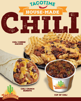 TacoTime is serving Chili!