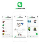 Announcing the Official Release of LINE Stickers, the Sticker Posting Community App That Lets Users Share Stickers Tagged with Short Phrases
