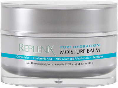 Replenix Pure Hydration Moisture Balm with triple layer moisture technology nourishes and replenishes dry skin