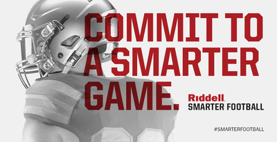 Join Riddell and commit to #SmarterFootball today at Riddell.com/SmarterFootball