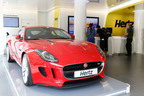 Hertz has launched the universally acclaimed Jaguar F-TYPE Coupe as the Hero car of its Dream Collection ranges in Spain, France, Belgium, Italy and The Netherlands. The iconic car will be available to rent exclusively with Hertz this year. (PRNewsFoto/Hertz Corporation)