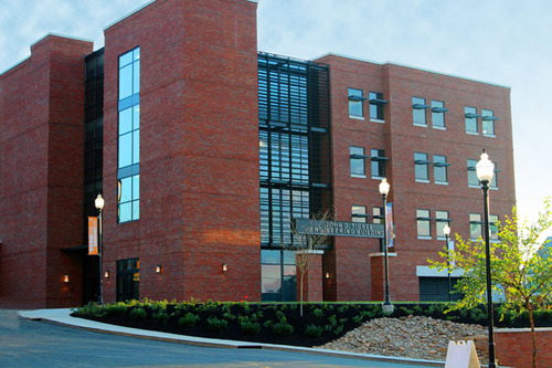 John D. Tickle Engineering Building.  (PRNewsFoto/University of Tennessee)