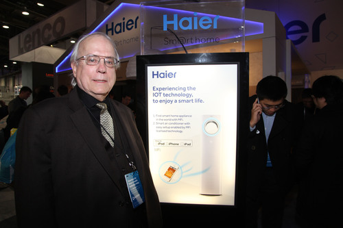 Haier smart home enables a new way of life in the Internet era and brings you the smart living experience that you want.  (PRNewsFoto/Haier)