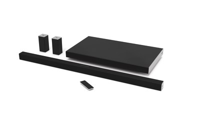 VIZIO debuts all-new home theater sound bar collection, featuring high performance 5.1 surround sound and innovative, new slim design. The line-up is part of next generation VIZIO SmartCast(TM) Ecosystem with Integrated Google Cast for Simple WiFi Casting from anywhere in the home.