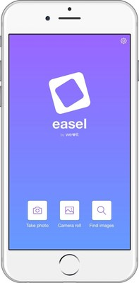 Easel makes it easy to create fun and interesting images