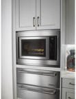 Flush Installation An Option On New Jenn-Air® Built-In/Countertop Convection Microwave Ovens