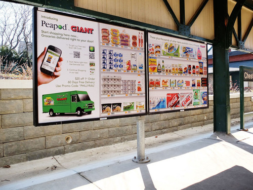 For the first time in the United States, Peapod, the nation's largest internet grocer, is using Titan's  ...