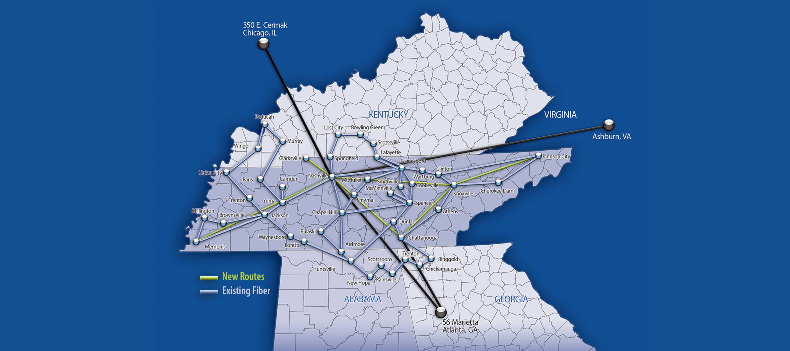 iRis Plans Underway to Construct Key Routes in Tennessee