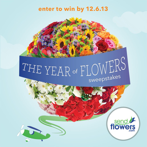 Send Flowers Launches The Year of Flowers Sweepstakes. (PRNewsFoto/SendFlowers.com)