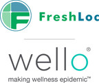FreshLoc and Wello Logo for FreshLoc Technologies and its wholly owned subsidiary, Wello Inc., making wellness epidemic, always innovating. See freshloc.com and welloinc.com. 3939 Belt Line Road, Suite 400, Addison, TX, 75001; Phone: 972-759-0111 OR 888-225-9458