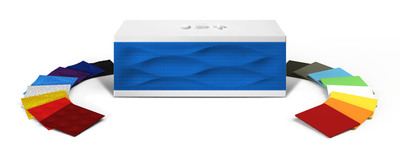 JAMBOX by Jawbone is now completely customizable.  (PRNewsFoto/Jawbone)