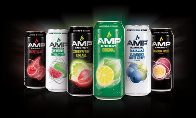 New AMP Energy Flavor Lineup Offering The Energy You Need And The Flavors You Crave