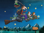 Room on the Broom Games App.  (PRNewsFoto/Room on the Broom)