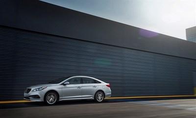 2016 Hyundai Sonata Earns IIHS TOP SAFETY PICK+ Award