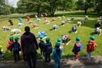 "Public Art Works ""Heart Panda"" Created in China Hit Berlin"