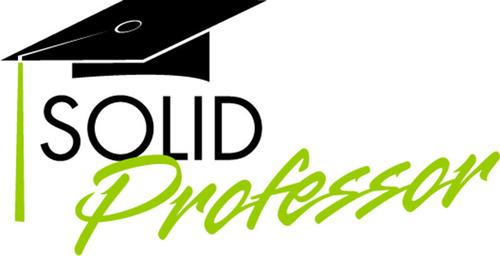 SolidProfessor logo. (PRNewsFoto/SolidProfessor) (PRNewsFoto/SOLIDPROFESSOR)