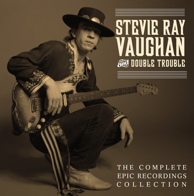 """""""Stevie Ray Vaughan and Double Trouble: The Complete Epic Recordings Collection"""" to be released on Tuesday, October 28, 2014. (PRNewsFoto/Legacy Recordings)"""