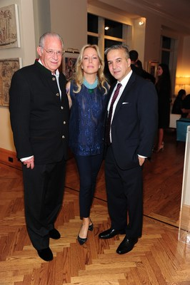 AID FOR AIDS Board Member- Dr. Bill Haseltine, President of the Board- Maria Eugenia Maury and Founder Jesus Aguais