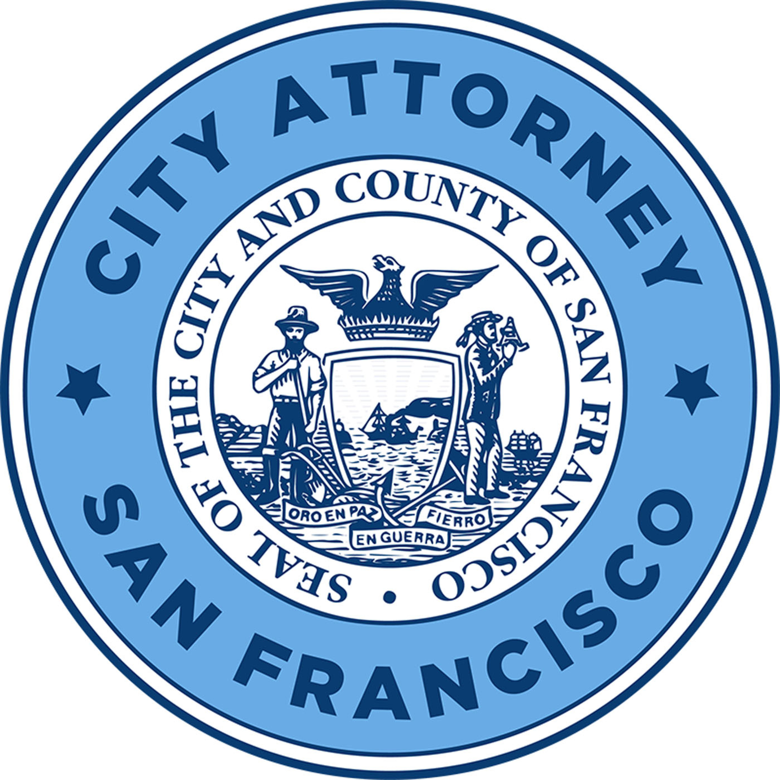 San Francisco City Attorney's Office's official seal. Dennis Herrera, City Attorney.