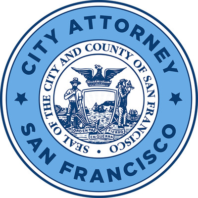 San Francisco City Attorney's Office's official seal. Dennis Herrera, City Attorney.