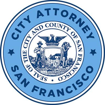 San Francisco City Attorney's Office's official seal. Dennis Herrera, City Attorney