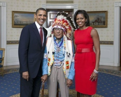 Presidential Medal Of Freedom Recipient And Last Crow War Chief Dr. Joseph Medicine Crow Dies At Age 102