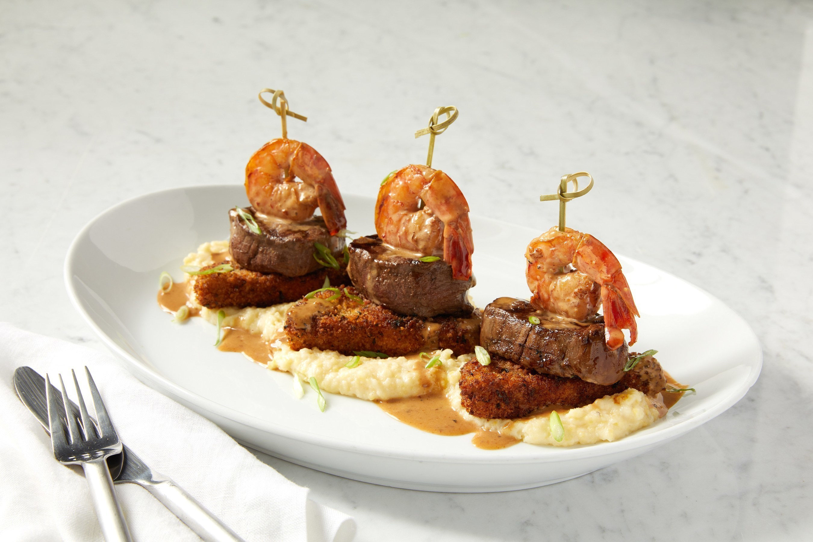 Surf & Turf at BRIO Tuscan Grille