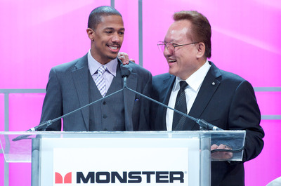 Noel Lee Announces Monster Cable's Youth Empowerment Initiative to Support Nick Cannon's Teen Nick HALO Awards and Dean Kamen's F.I.R.S.T program.  (PRNewsFoto/Monster)