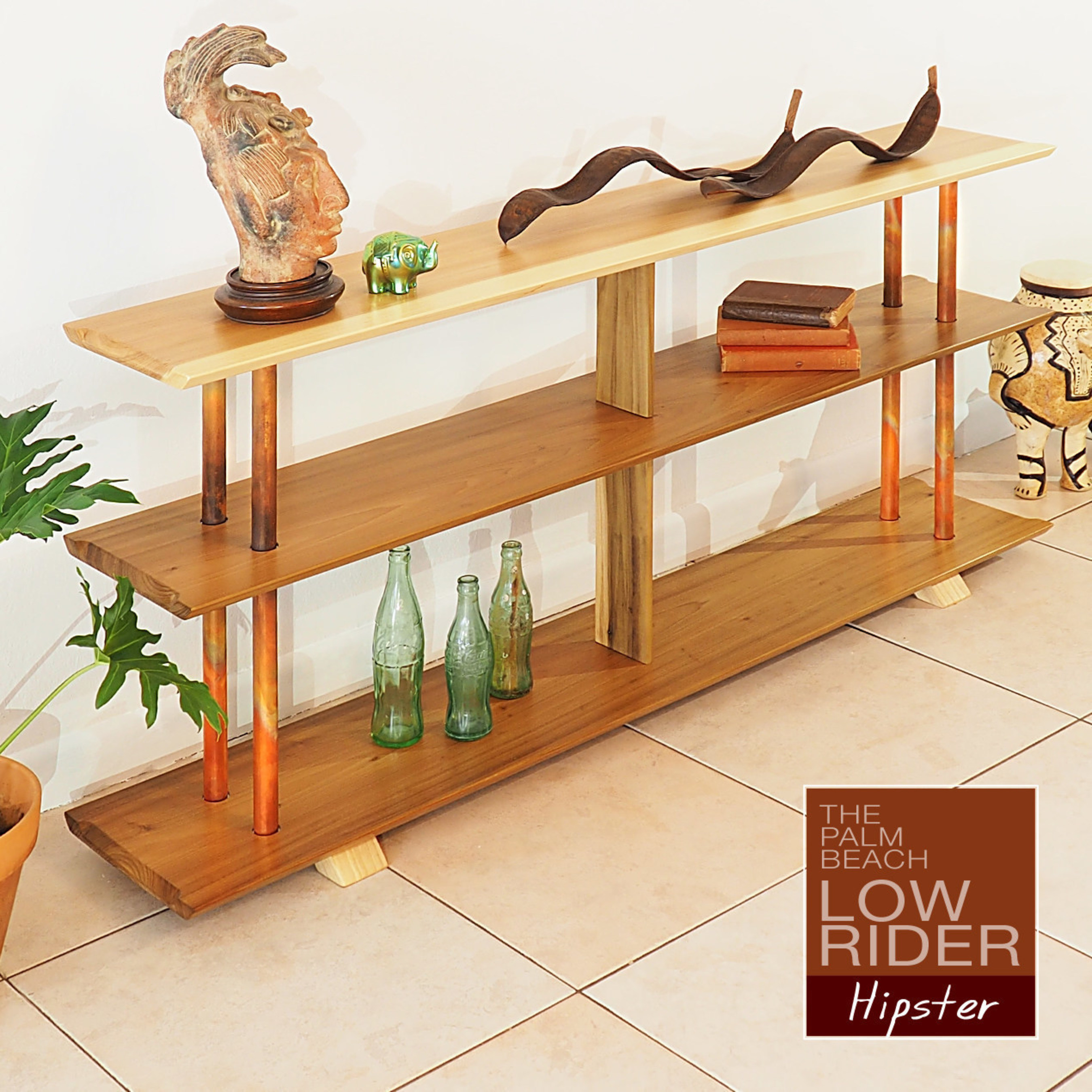 Image of: Introducing The Mid Century Inspired Palm Beach Low Rider Bookcase