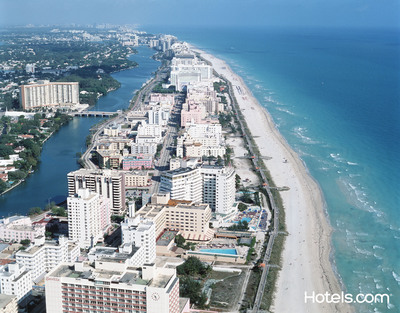 Cities in Florida are gaining popularity among American travelers according to the Hotels.com Hotel Price Index.  (PRNewsFoto/Hotels.com)
