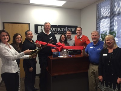 Cornerstone Home Lending celebrates new JFK Parkway location in Fort Collins, CO.