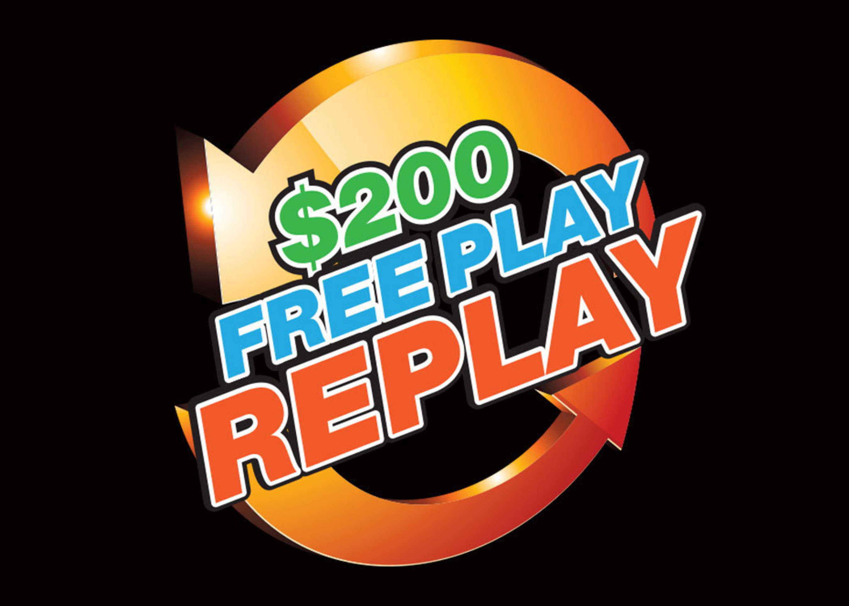 New Club Soboba members can now REPLAY up to $200 FREEPLAY!