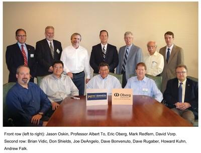 Front row (left to right): Jason Oskin, Professor Albert To, Eric Oberg, Mark Redfern, David Vorp.Second row: Brian Vidic, Don Shields, Joe DeAngelo, Dave Bonvenuto, Dave Rugaber, Howard Kuhn, Andrew Falk.