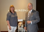 Hunting PLC Donates $135,000 To Patriot PAWS Service Dogs