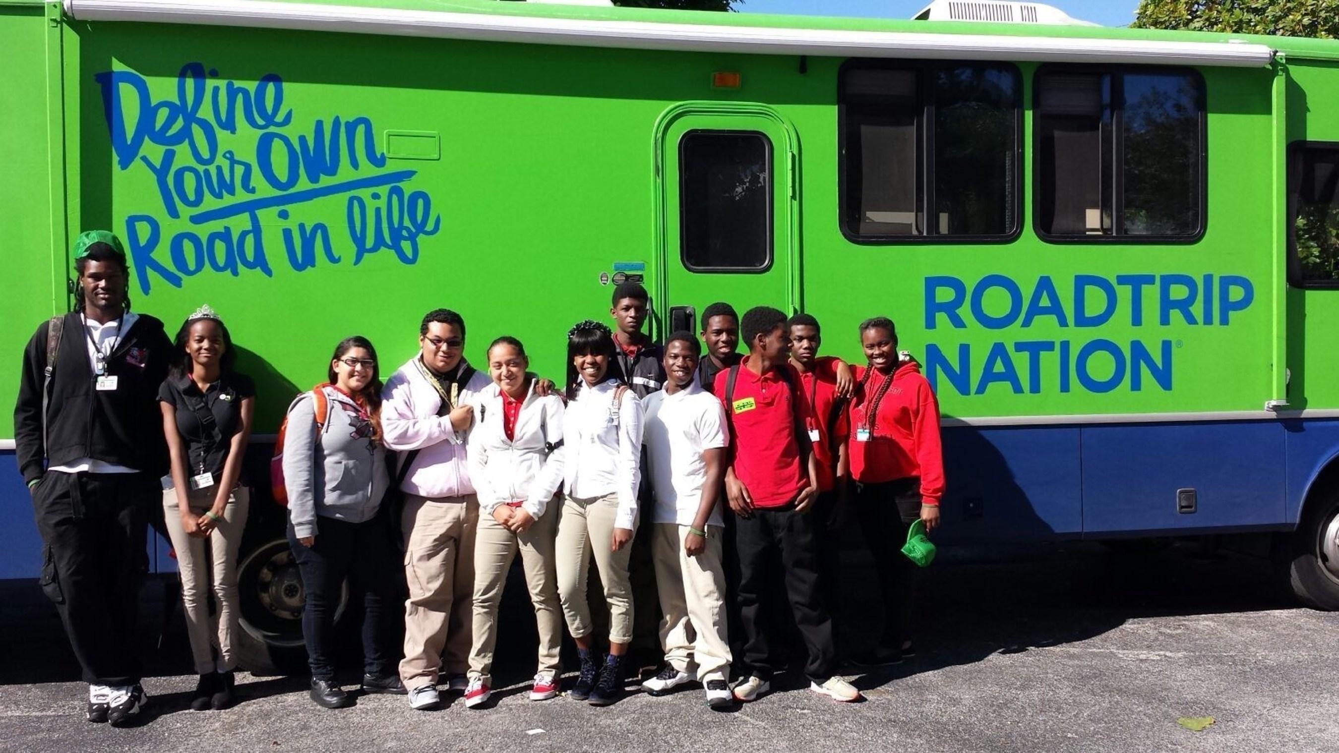 take stock in children partners roadtrip nation to drive take stock in children hosts student career exploration roadtrip nation in miami