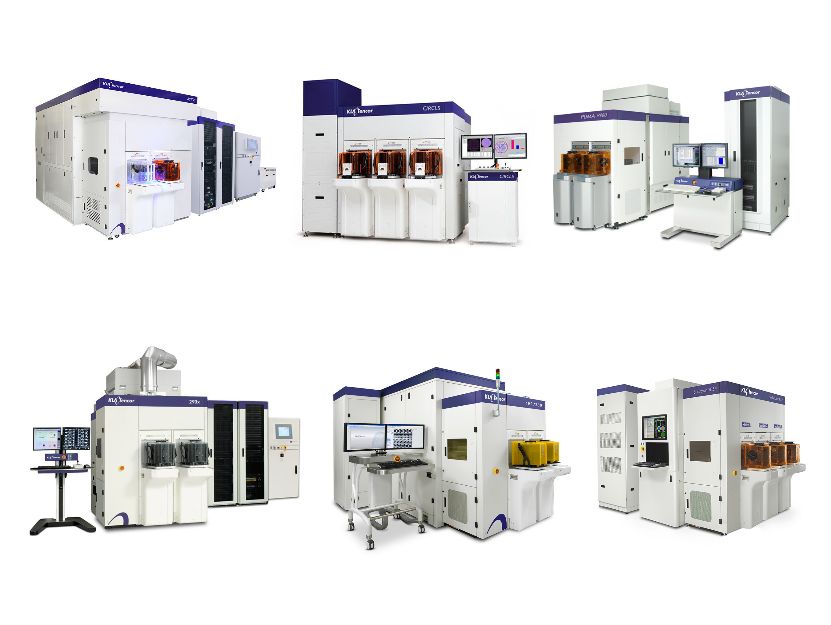 KLA-Tencor's comprehensive wafer inspection and review portfolio enables advanced defect discovery and process monitoring, supporting leading-edge IC manufacturing