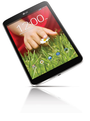LG G Pad 8.3.  (PRNewsFoto/LG Electronics USA)
