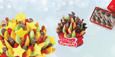 More than 1,000 Edible Arrangements stores in the US will be open and delivering fresh fruit arrangements until 5 p.m. on Christmas Eve.