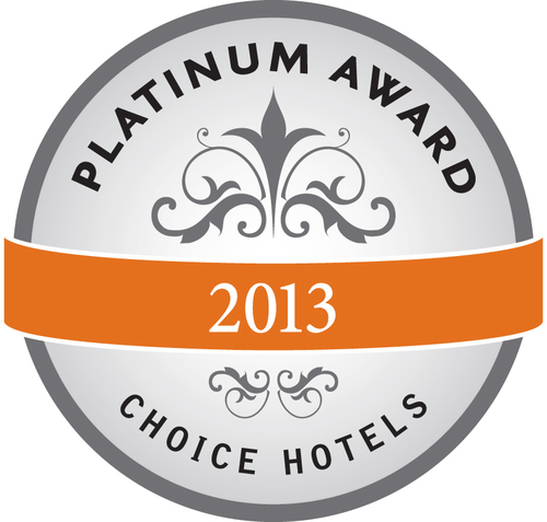 Choice Hotels Platinum Award (PRNewsFoto/Choice Hotels International, Inc)