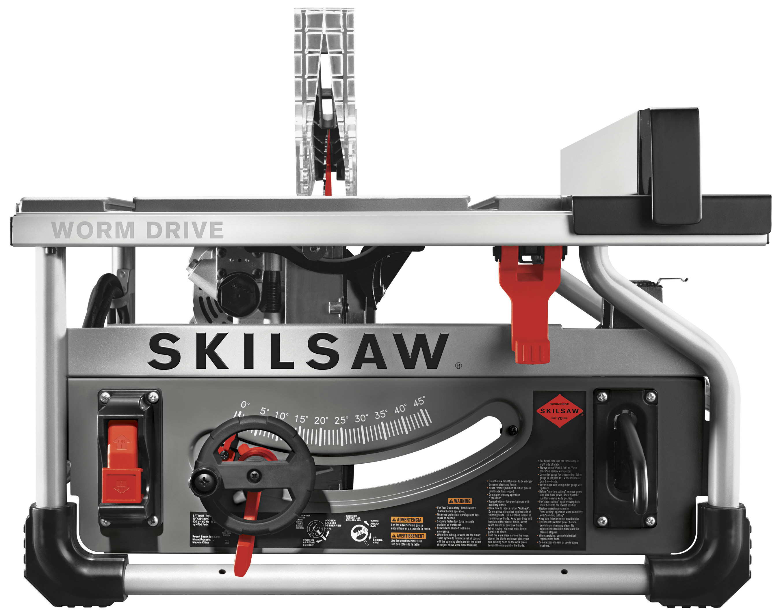 Increased power and durability are key features that pros continue to demand from every tool on the jobsite. With this in mind, SKILSAW introduces the first-ever 10 in. Worm Drive table saw. Known for its deep heritage in engineering Worm Drive handheld saws, the new SKILSAW SPT70WT-22 offers great rip cutting performance and reliability while maintaining a portable size.