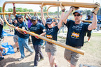 Delta employees and community volunteers build playground in one day for Woodbridge Community Youth Center