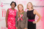 Tiffany Moore of Twin Logic Strategies, Sen. Shelley Capito (R) West Virginia, and Blair Watters of InterDigital Corporation at the 2015 Blush Lunch which raised $1.5 million to deliver free breast cancer screening on the GW Mammovan.