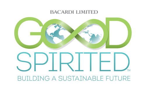 "Bacardi Limited, the largest privately held spirits company in the world, sets a bold new course for a more sustainable future with its ""Good Spirited"" initiative.  (PRNewsFoto/Bacardi Limited)"