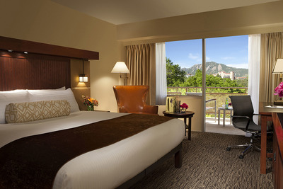 Superior Garden Room at Millennium Harvest House Boulder (PRNewsFoto/Millennium Hotels and Resorts)