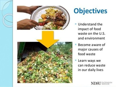 Approximately 31 percent of all food produced in the United States is tossed in the garbage each year.