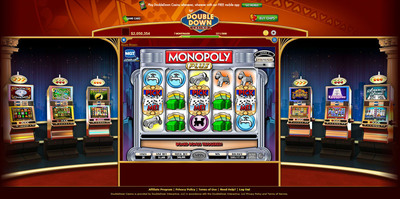 DoubleDown Casino launches MONOPOLY PLUS Slot game. (PRNewsFoto/IGT)