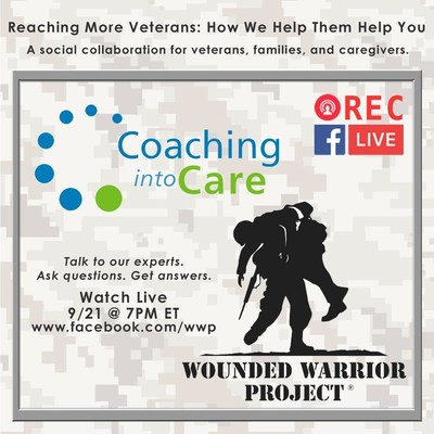 Wounded Warrior Project & VA Coaching Into Care Collaborate on Facebook Live