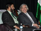 PR NEWSWIRE INDIA: Dr R K Pachauri, President, TERI North America (left) and Director General, TERI,and Dr Ernest Moniz, United States Secretary of Energy, at the 5th US-IndiaEnergy Partnership Summit, held in Washington DC