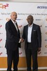 Mr Franky Van Damme, CEO, CR2 and Mr Herbert Wigwe, Group Managing Director, Access Bank Plc