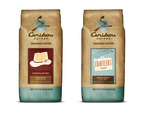"Caribou Coffee Company, Inc. yesterday launched two new coffees, Colombia Cosecha de Oro and Traveler's Roast, joining Caribou's extensive coffee line-up - 20 choices - a broad range of coffees - light, dark and medium roasts. Colombia Cosecha de Oro is a refined option to satisfy guests looking for a lighter roast, featuring caramel notes with hints of subtle vanilla and sweet fruit flavors. The medium-bodied blend, Traveler's Roast is juicy and complex with a silky, smooth finish. Fans will love the dark chocolate qualities and ""syrup-like"" body. Both are permanent additions to the line-up, available in stores and online.  (PRNewsFoto/Caribou Coffee Company)"